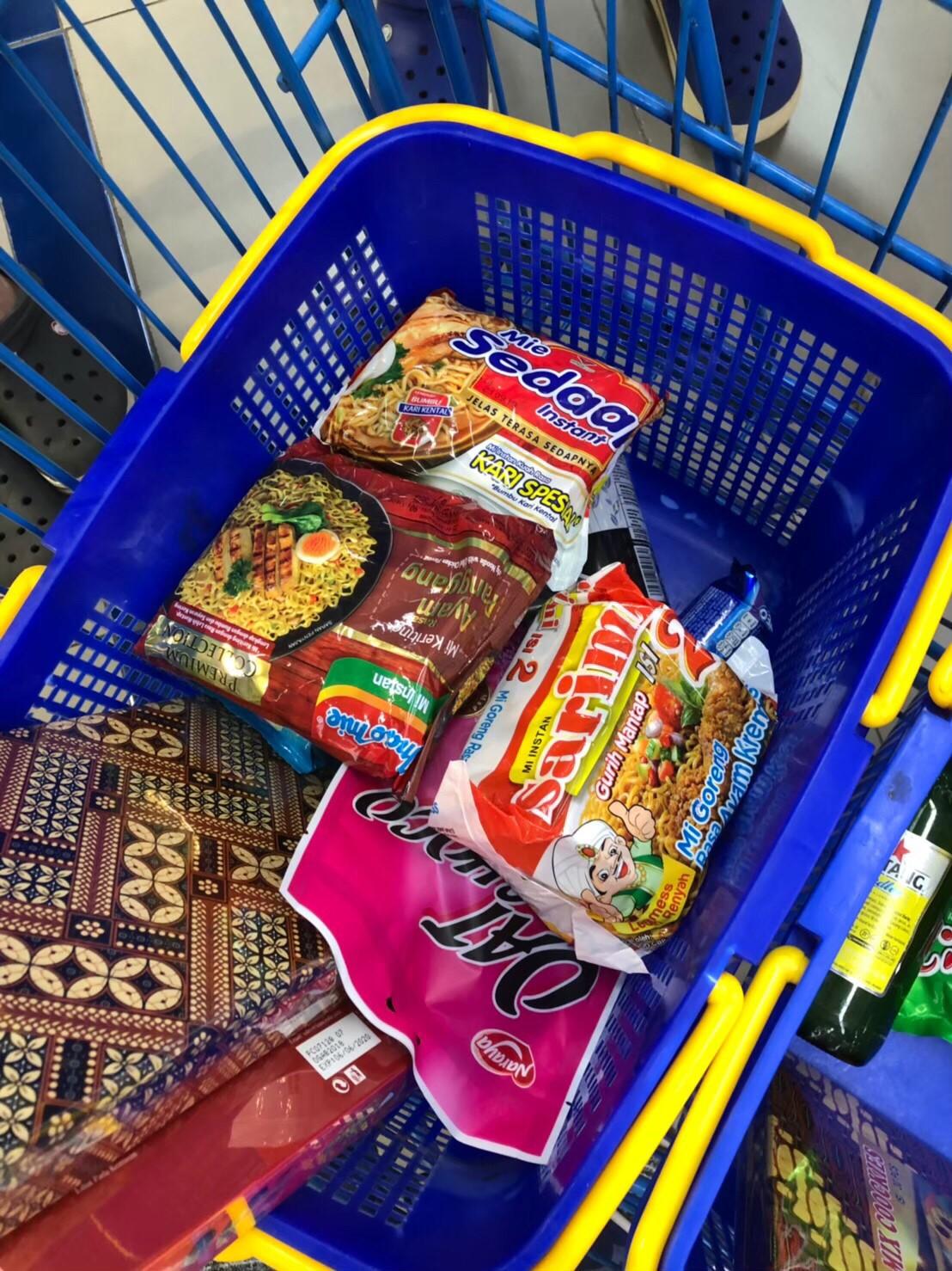 バリ島旅行記 スーパー