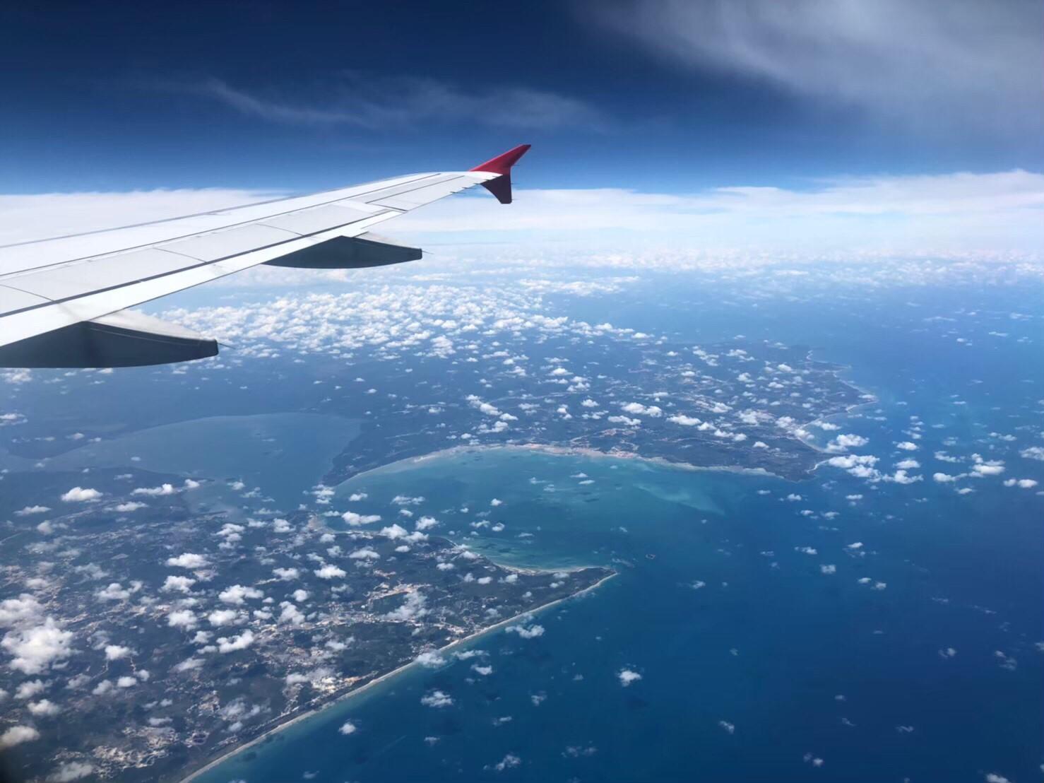 バリ島旅行記 飛行機