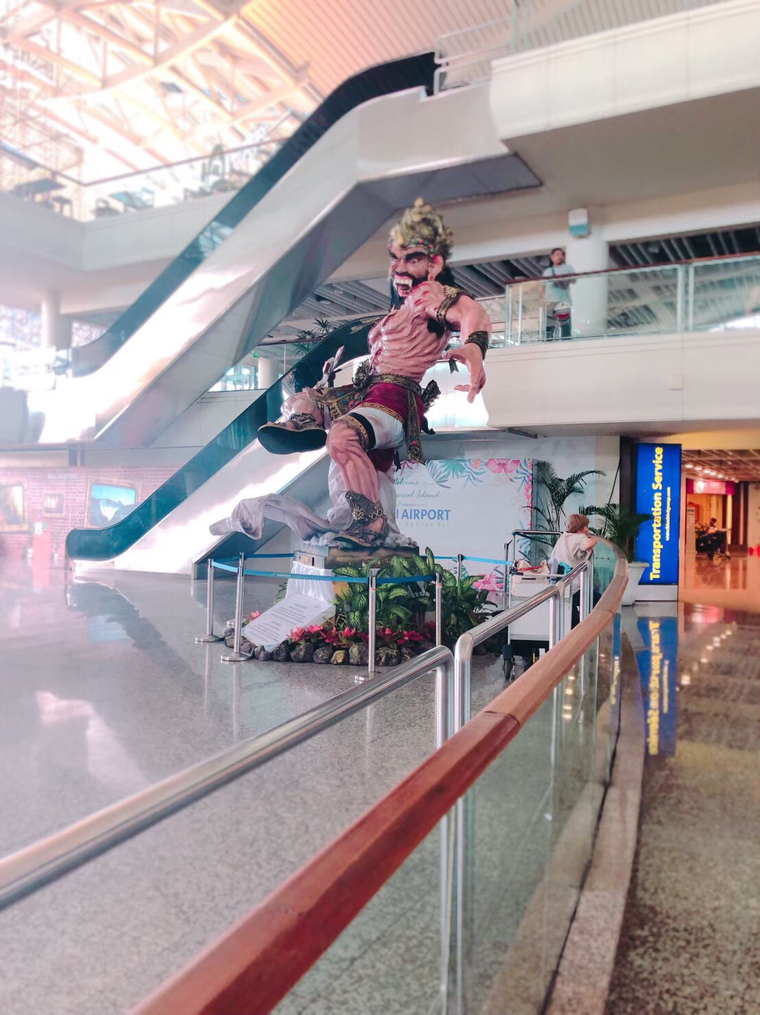 バリ島旅行記 空港