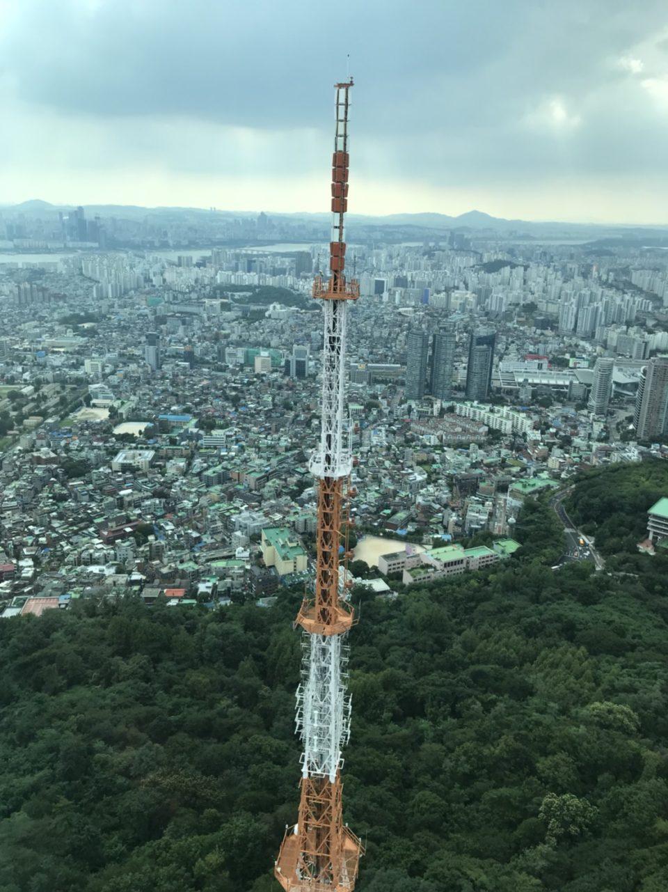 韓国旅行記 Nソウルタワー