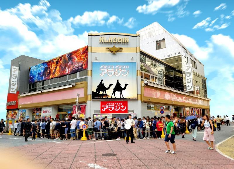 新宿のおすすめパチンコ店:新宿 アラジン