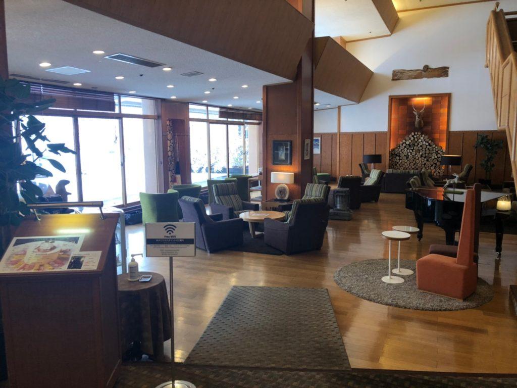 草津ナウリゾートホテル エントランス