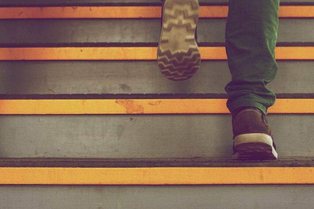 踏み台昇降の台はどのくらいの高さが良い?