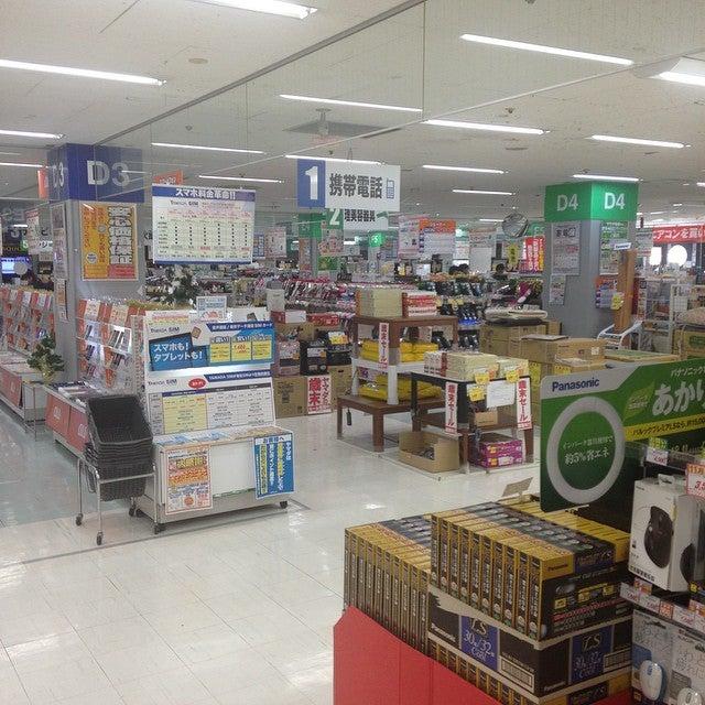 所沢の電気屋・家電量販店:ヤマダ電機 テックランド所沢店