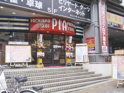大森のおすすめパチンコ店:PIA大森