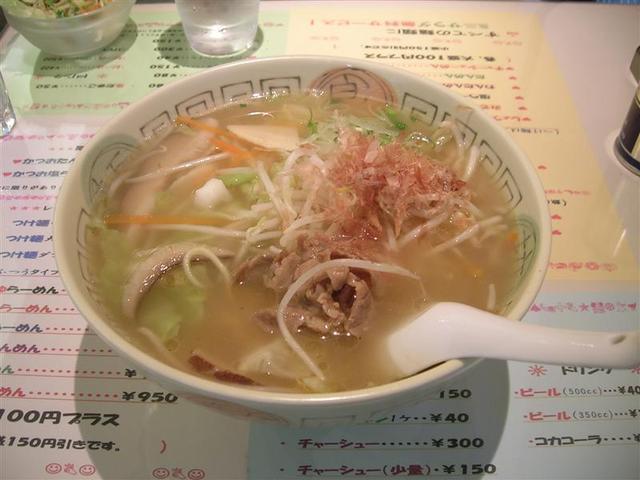 松陰神社前ラーメン:麺番館