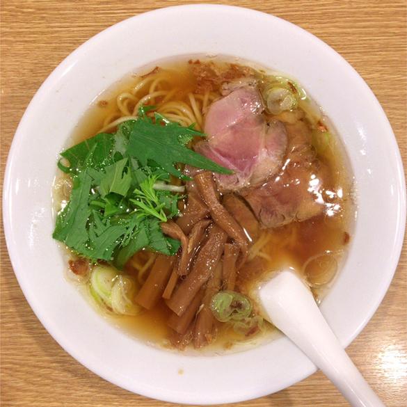 松陰神社前ラーメン:麺食堂 一柳