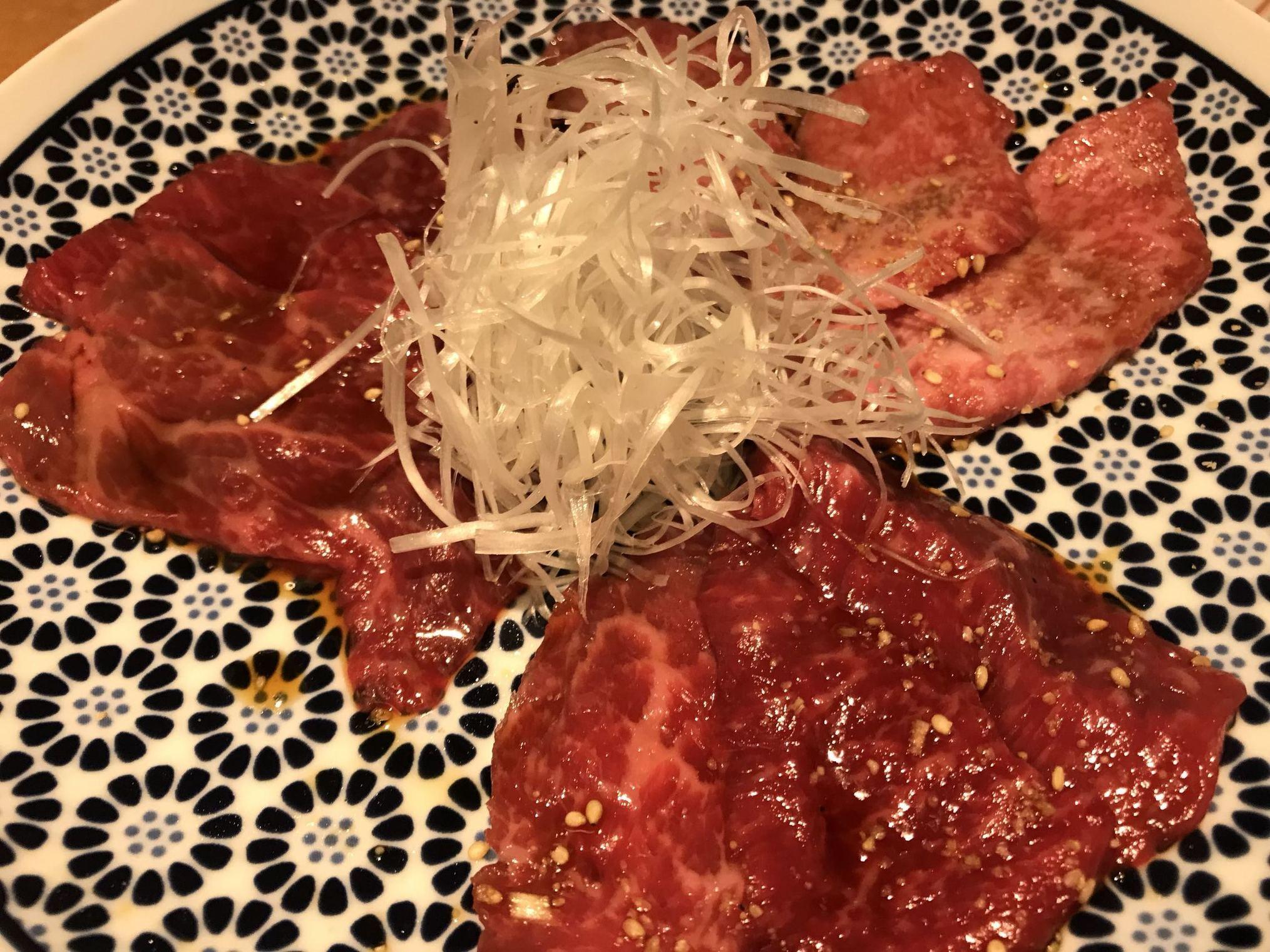 用賀焼肉:焼肉 星山
