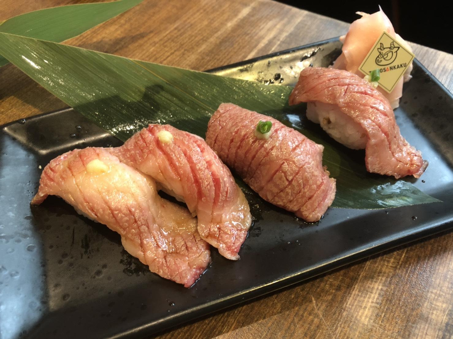 船橋 焼肉 ともさんかく 肉寿司