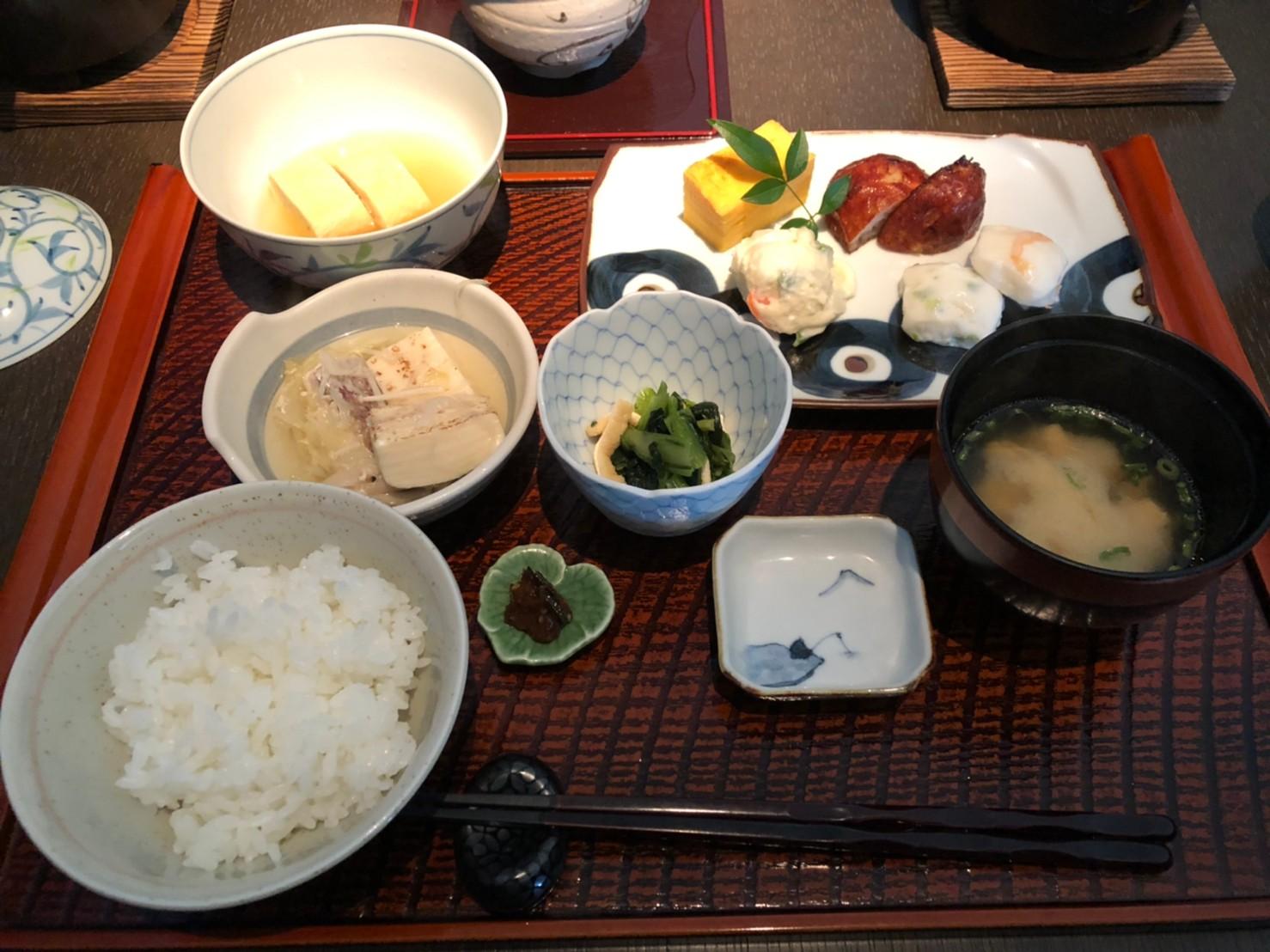 界アンジン朝食
