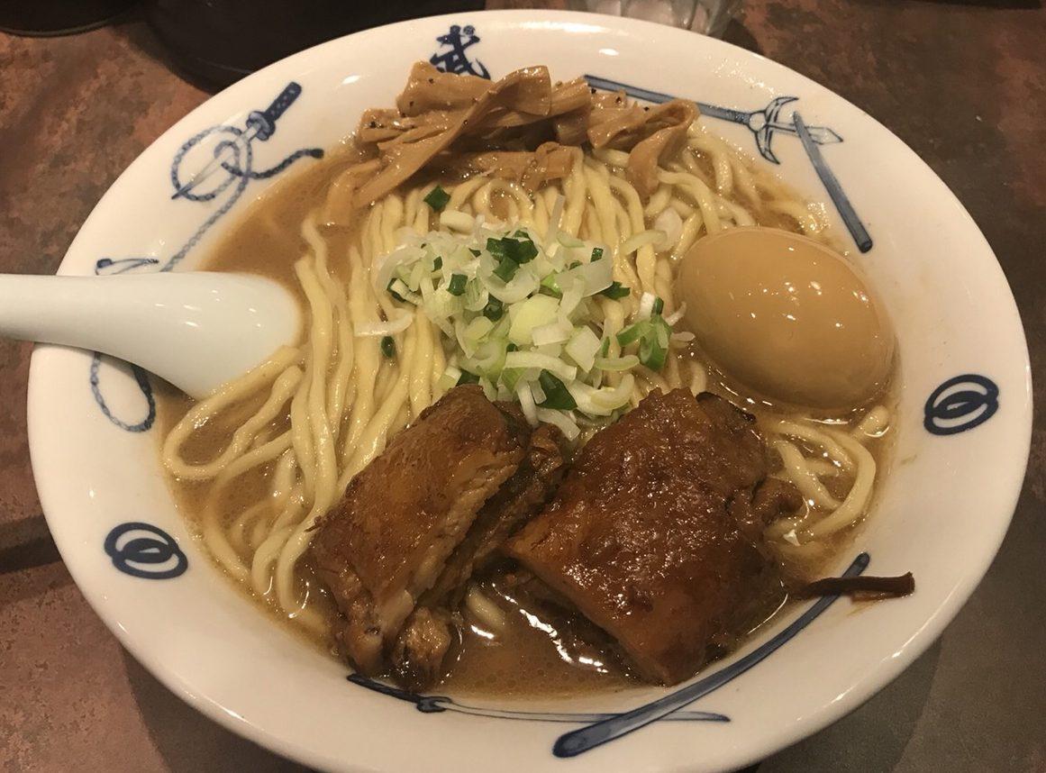 渋谷ラーメン:麺屋武蔵 武骨外伝