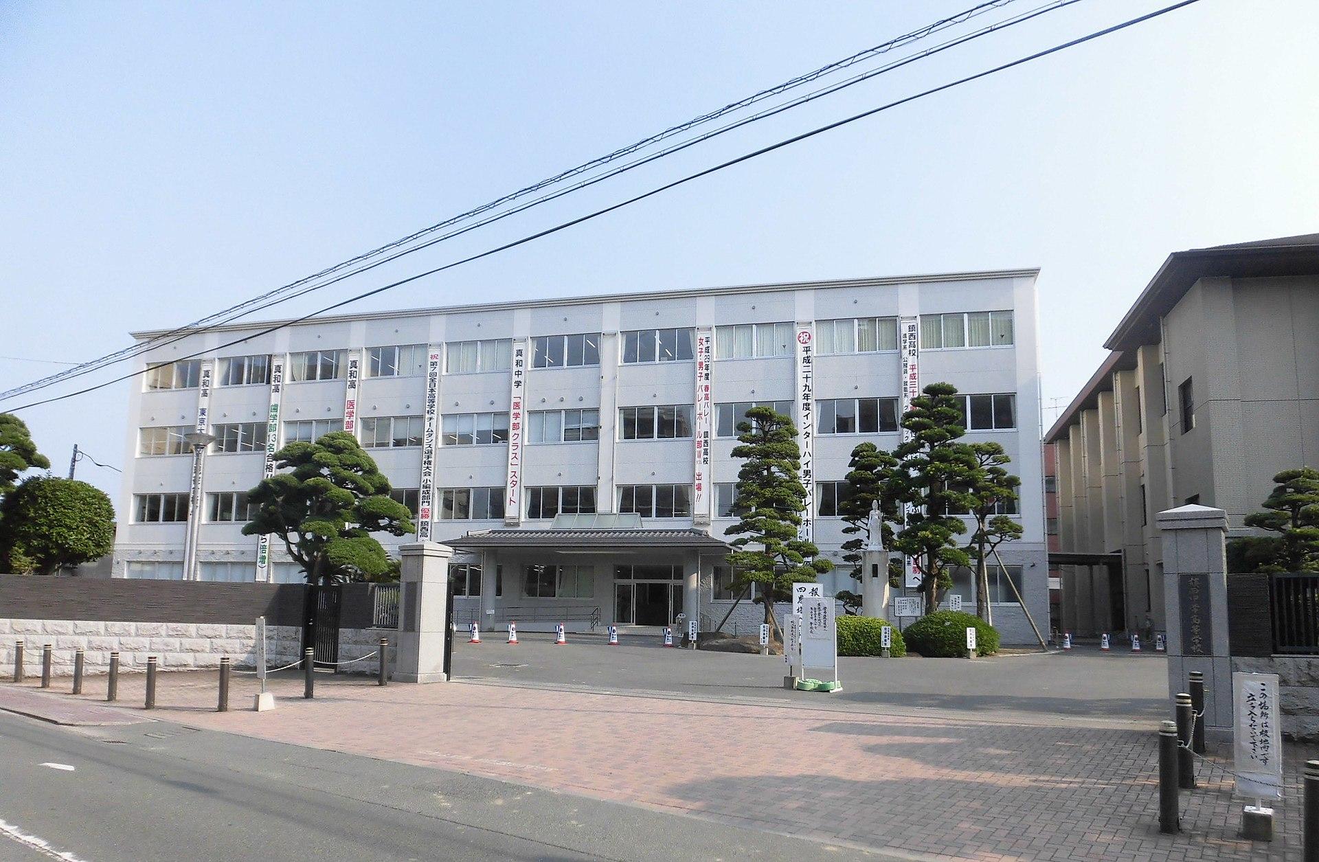 バレーボールの強い高校:鎮西高校(熊本県)