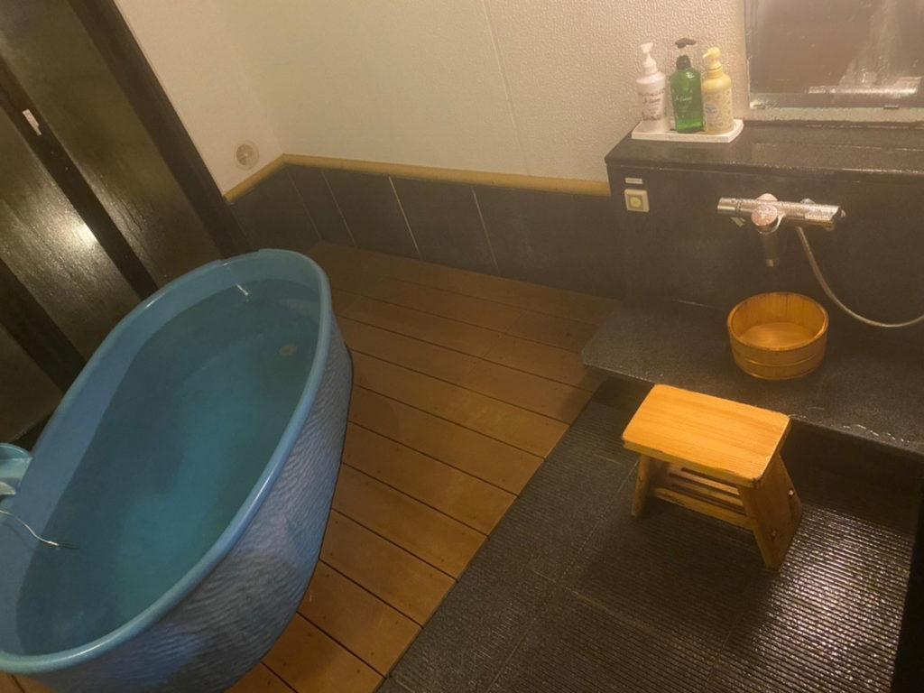 天成園の貸切風呂♪
