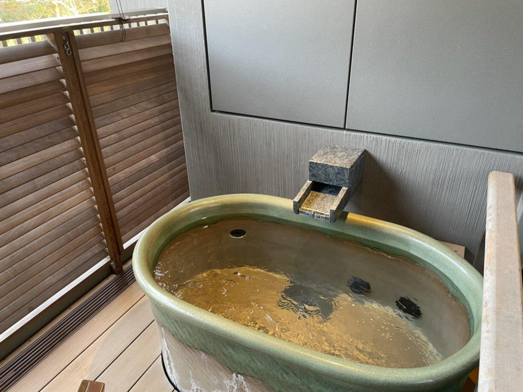 はなをり客室露天風呂