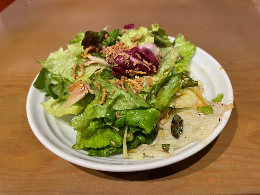 4種の葉っぱのチョレギサラダ